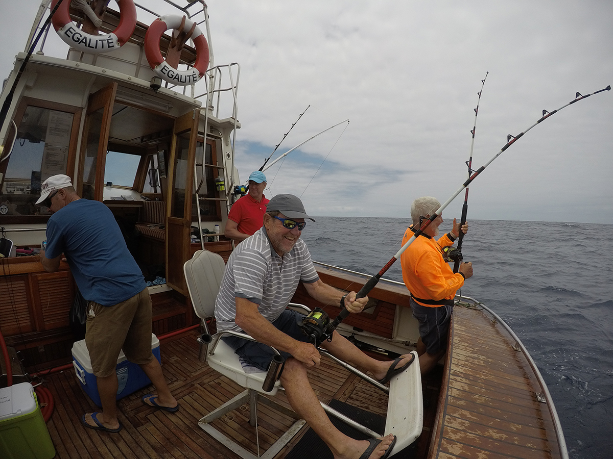 Game fishing St Helena