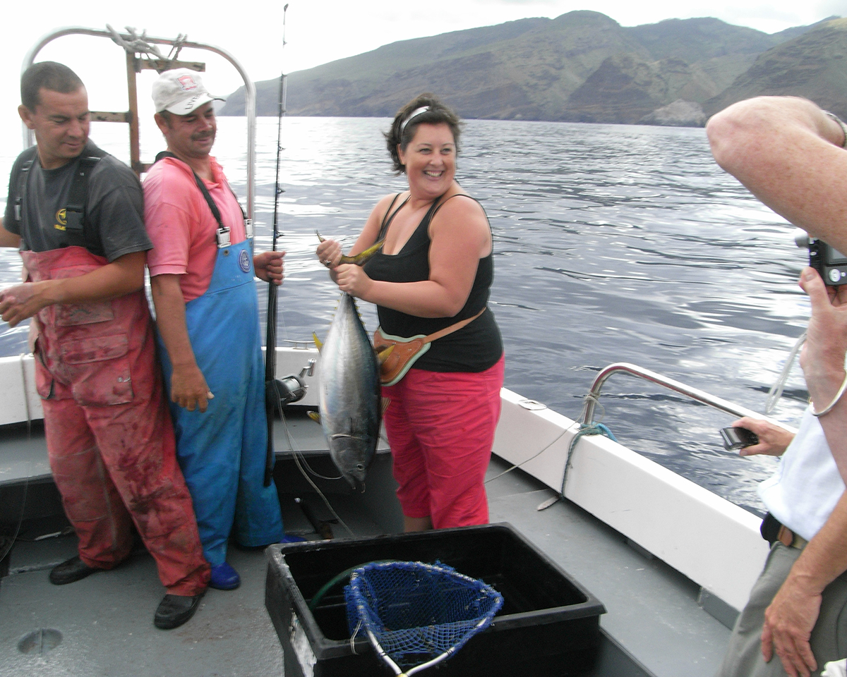 Tuna Fishing in St helena