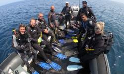 Boats diver st helena
