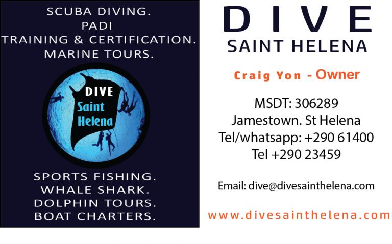 New Dive St Helena website online