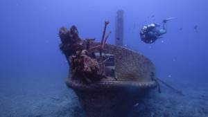 wreck diving St Helena