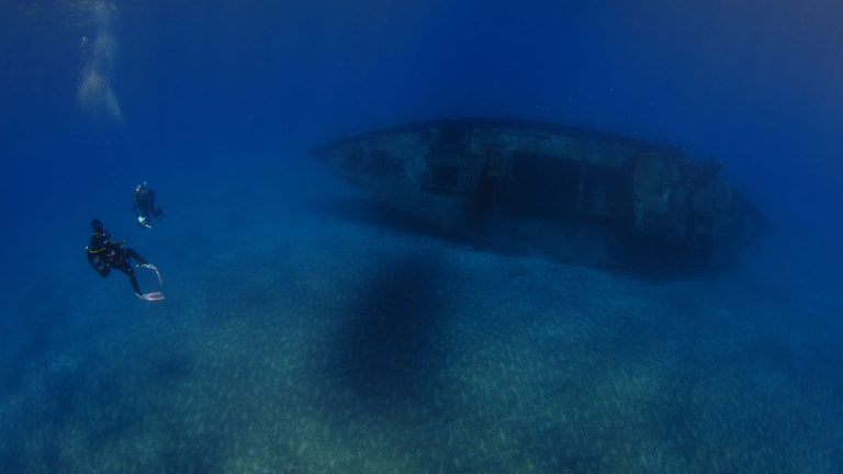 Dive in St Helena