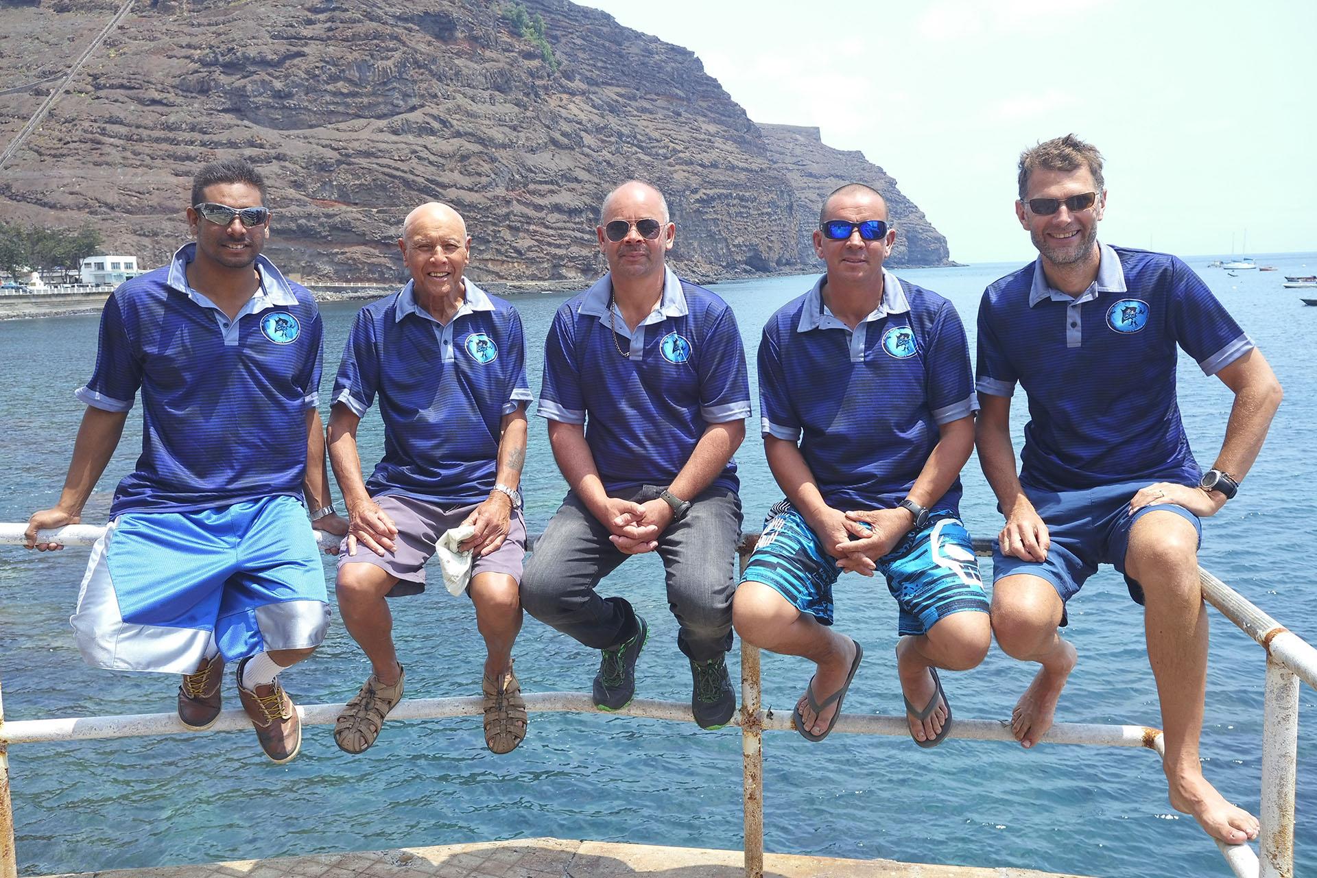 Dive Saint Helena Team